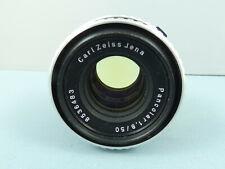 "Carl Zeiss Jena Pancolar 1:1.8 f=50mm Zebra Thorium Prime Lens,M42 Fit ""Nr MINT"""