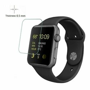 For Apple Watch Series 6 SE 5 4 3 2 1 38/42mm Tempered Glass Screen Protector