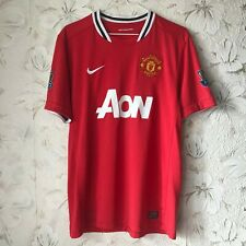 Manchester United England Home football shirt 2011 - 2012 Nike Soccer Jersey L