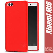 Custodia Cover Xiaomi Mi6 Mi 6 Case Silicone Tpu Sandstone Frosted Gel Nera Full