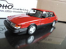 SAAB 900 TURBO Rouge 1/18 OTTO OTTOMOBILE OTTOMODELS GT SPIRIT Laudoracing
