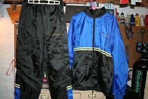 NOS Large COLNAGO Windbreaker Track Suit Windproof Jersey, Coat + Pants!