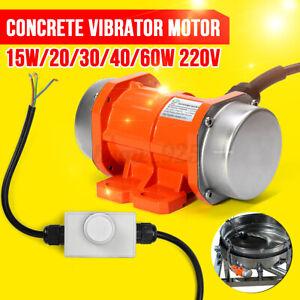 20W-60W Vibration Motor Concrete Shaker Vibrating Motor Asynchronous Vibrator