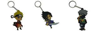 Naruto double sided PVC key chain