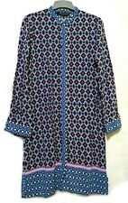 ZARA  floral and geometric print tunic dress