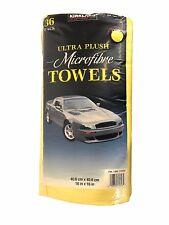 Kirkland Signature Ultra Plush Microfibre Towels Auto Home 6-36 Microfiber Pack