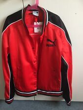 mens Jacket SIZE 3XL Puma Parker Arsenal fan  NEW with tags