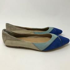 Roger Vivier Suede Ballerina Flat with Pointed Toe Women's Size: 9 / 39 EU