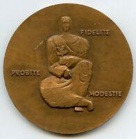 France Bronze Art Medal Paul Albert Codbert 63mm 118gr