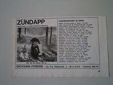 advertising Pubblicità 1972 MOTO ZUNDAPP GS SEI GIORNI 125