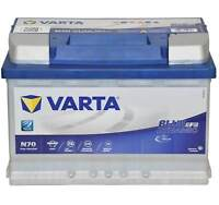 VARTA 096 N70 Start-Stop EFB Car Van Battery 12v 70Ah 760