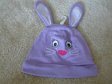 """THE CHILDREN'S PLACE INFANT GIRL'S BEANIE """"BUNNY"""" MOTIF 12-18 MOS NWT"""