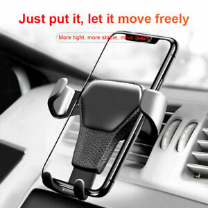 Universal Gravity Car Phone Holder Mobile Phone Air Vent Mount Stand Cradle