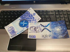Special Edition XRP Ripple Crypto Currency Novelty Bank Note
