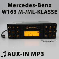 Mercedes Audio 10 BE3100 AUX-IN Autoradio W163 Radio M ML Klasse Kassettenradio