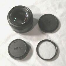 Nikon AF Nikkor 50mm 1:1.4 D Camera Lens