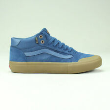 Vans 112 Pro Mid Shoes Trainers in (Camouflage)/ Dark Denim in UK Size 7,8,9,10