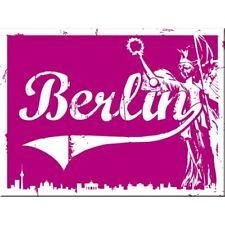 MAGNET 14253 - BERLIN GOLDELSE PINK - 8 x 6 cm - NEU