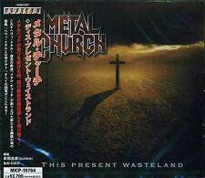 METAL CHURCH THIS PRESENT WASTELAND 2008 JAPAN CD - NEW/SEALED GIFT QUALITY!