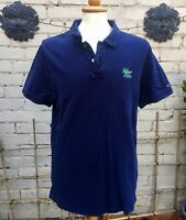 Mens Navy Blue XXL Hilfiger Polo Shirt In Sound Overall Condition 👍👍👍