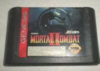 Mortal Kombat II CART ONLY   - Sega Genesis - Tested