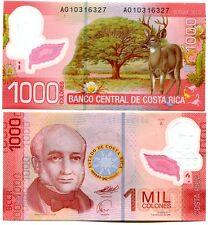 COSTA RICA 1000 COLONES 2009 (2011) P-274 UNC