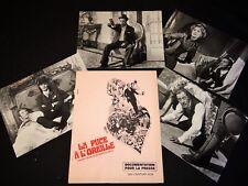 LA PUCE A L' OREILLE Rex Harrison Rosemary Harris dossier presse cinema 1968