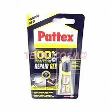 PATTEX COLLA FLESSIBILE 8G REPAIR GEL 100% POTERE RIEMPITIVO HENKEL ACCIAIO