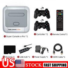 Us Super Console-X Pro 4K Retro Hd Tv Video Game Console Playe 64/128/256G