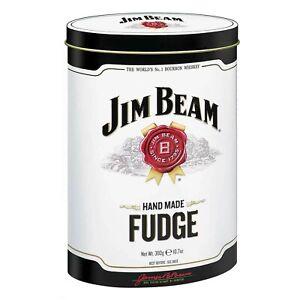 Jim Bean Whiskey Fudge Tin 300g - Ideal Gift for a Fudge or Jim Bean Lover