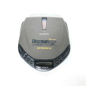 Sony D-E301 Discman CD Walkman CD player Portable Retro Disc Player ESP
