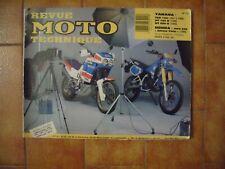 Revue moto technique Honda XRV 650 Yamaha 125 TZR DT 125 200 R ETAI N° 72 éd 89