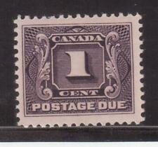 CANADA 1906 MINT NH #J1, POSTAGE DUE STAMP !! R1