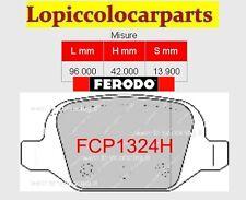 FCP1324H Pastiglie Ferodo RACING DS2500 FIAT 500 1.4 16V  100 CV 2007>