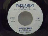 "The Coronados,Parliament Records 750,""Shook Me Down"",US,7""45,Northern Soul,MINT!"