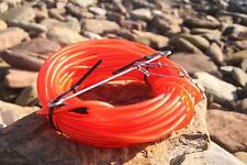 floatline 15m spearfishing 9mm red colour tube+Dyneema float line by ruminex