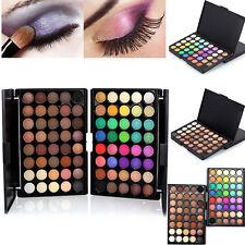 40 Colors Matte Shimmer Smoky Eye Shadow Makeup Eyeshadow Palette Set +Brush POP