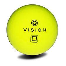 12 Golfbälle Gelb - VISION Pro Tour V SuperYellow - Spin NEU Soft Performance