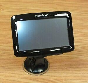 Genuine Nextar Q4 Automotive GPS Navigation System With Mount Bundle *READ*
