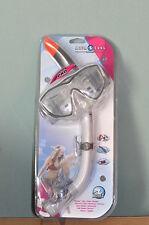 Aqualung Women Tauchset DIVA 1 Schnorchelset Maske mit Schnorchel Siltech PRO
