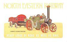 B99524 garrett steam tractor   north eastern railway    train  uk