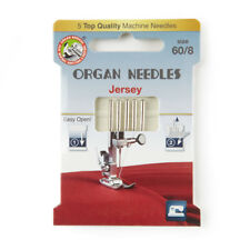 Organ Jersey Size 60 Domestic Sewing Machine Needles (130BP-60-ECO5OR)