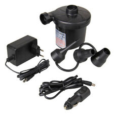 GOCHANGE Electric Air Pump Electric Inflate Car Deflate Pumps with 3 Nozzles US