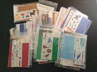 Creative Memories ~ 25 DIE CUT & STICKER KITS ~ Thanks to You Page Kits - U PICK
