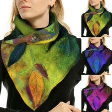 Scarf  Women Winter Wraps Neck Flower Shawl Warm LongScarf Shawl Ladies Gift