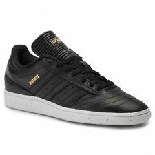 Adidas Busenitz Core Black Leather Gold White Sz 10.5 EE6249