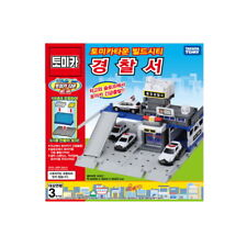 Takara Tomy Tomica Town Build City Police Station Children Toy