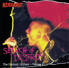 Various- Compil. CD- Search & Destroy - The History Of Punk Vol 1-Kerrang! # 805