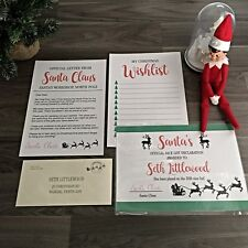 Personalised Letter from Santa Pack Christmas Gift