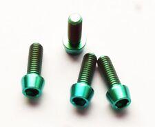 Titan Schraube M6 x 18 konisch DIN 912 Grade 5 grün